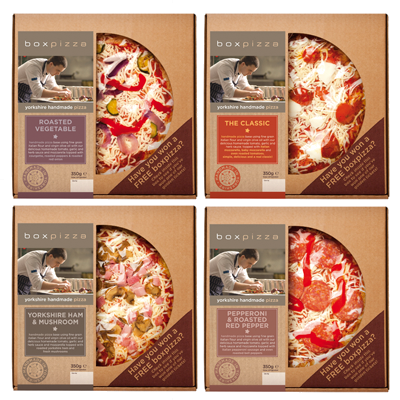 Chilled Pizza Range